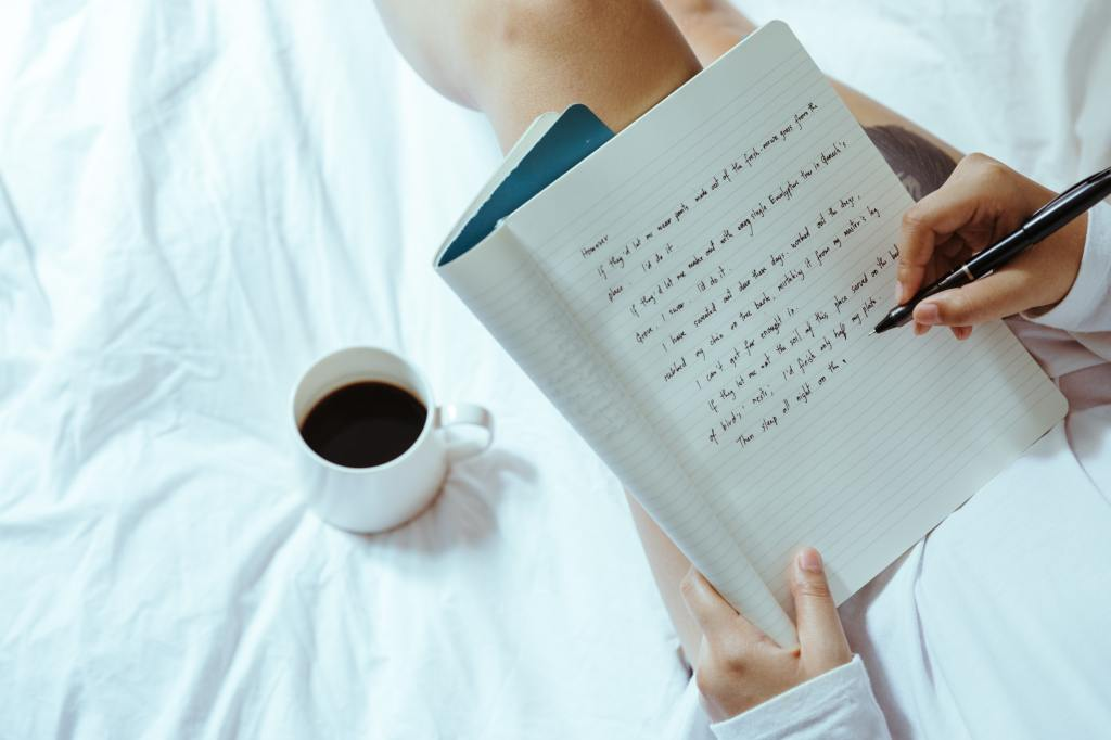 How to write - note book writing